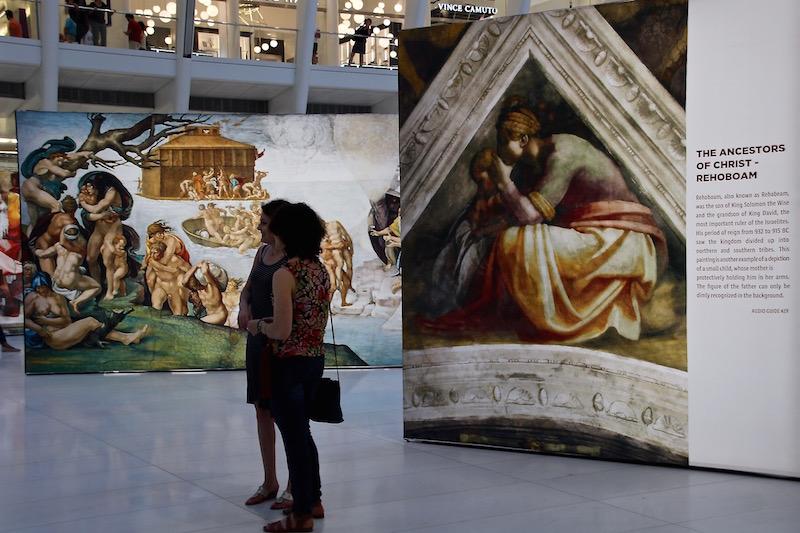 Up Close: Michelangelo's Sistine Chapel/Oculus