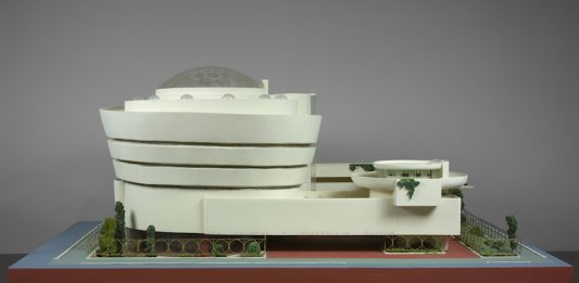 Frank Lloyd Wright (American, 1867–1959). Solomon R. Guggenheim Museum