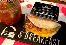 naked egg taco